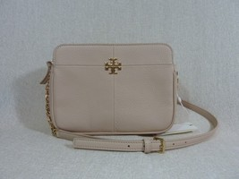 NWT Tory Burch Light Oak Pebbled Leather Ivy Cross Body Bag $375 - $304.92