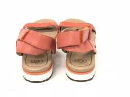 Ugg Australia Laddie Women's Ankle Strap Fire Opal Orange Sandal 1015669 Shoes image 11
