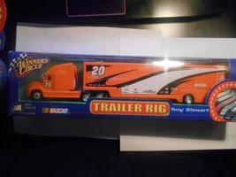 XRARE 1:24 Tony Stewart #20 HOME DEPOT 1999 Die-Cast Hauler Signed - $49.99