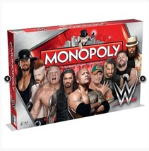 WWE Monopoly - Collectors Edition Board Game - $54.99