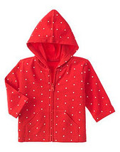 Barnyard Cuties Gymboree NWT Heart Hoodie Jacket 3- 6 mos. - $9.99