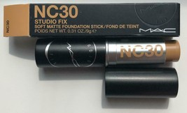 Mac Studio Fix Soft Matte Foundation Stick NC30 - New In Box - $22.50