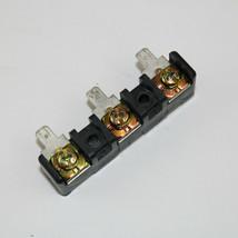 GE Dryer : Terminal Block / no Grounding Strap (WE4M324 / WE4M325) {P4934} - $14.39