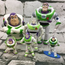 Disney Pixar Toy Story Buzz Lightyear Assorted Action Figures Lot Of 6 Toys - $24.74