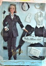 Barbie Doll - Barbie Millicent Roberts Pinstripe Power Doll Limited Edition - $46.95