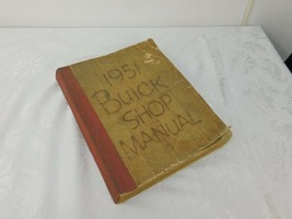 1951 Buick Factory Repair Shop & Service Manual - - $25.46