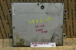 05-06 Ford F150 4.2L AT Engine Control Unit ECU 5L3A12A650BKB Module 754... - $34.98