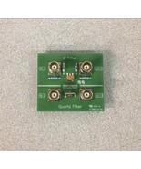 Omicron Lab IF Filter Quartz Filter Bodefilt-1 Test Board - $130.00