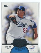 HYUN-JIN RYU RC 2013 Topps Making Their Mark #MM46 Los Angeles Dodgers Card - $2.75
