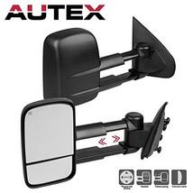 AUTEX Towing Mirrors Compatible with 2015 2016 2017 Chevy Silverado 1500... - $178.66