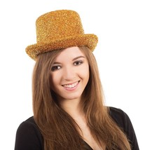 Top Hat. Gold Tinsel - £5.18 GBP