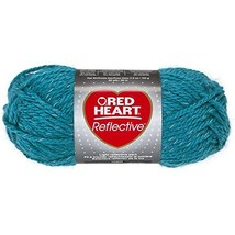 Red Heart Coats Yarn Reflective Yarn, Peacock - $9.19