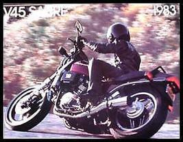 1983 Honda Motorcycle Sabre V45 Brochure VF750 - $22.74