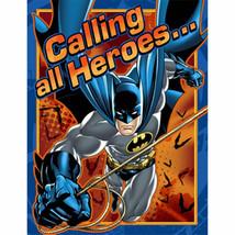 Batman Heroes and Villans Birthday Party 8 Invitations - $1.99