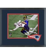 """Kyle Van Noy Super Bowl LIII """"Sack"""" -11x14 Team Logo Matted/Framed Photo - $43.55"""