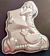 Vintage Big Bird Gifts Blocks Wilton Cake Pan Mold 1971 Sesame Street Birthday - $13.99