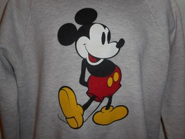 Vintage 80s Pink Disney Character Fashions Mickey Mouse Sweatshirt XL - $49.99