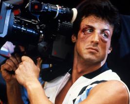Sylvester Stallone Holding Movie Camera on Rocky IV Set 16x20 Canvas - $69.99