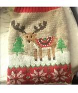 Small Reindeer Dog Sweater - $15.00