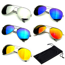 Reflectante Clásico Premium Flash Completo Hombre Mujer Sunglasses - $10.89+