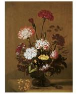 "20x30""Poster on Canvas.Home Room Interior design.Flower bouquet vase.6480 - $60.78"