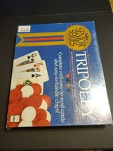 TRIPOLEY Senior Series 1989 Cadaco Vintage Game: Michigan Rummy Hearts P... - $34.78