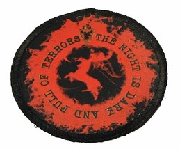The Night is Dark and Full of Terrors Morale Patch Tactical Military Army Flag - $22.00