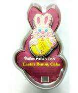 Vintage Wilton Easter Bunny Cake Pan With Easter Egg 1979 502-1913 - $21.02
