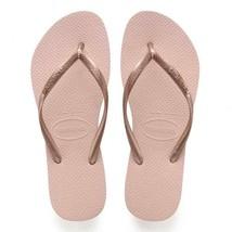 Havaianas Women's Slim Flip Flop Ballet Rose Sandals Size 9/10 NEW - $19.80