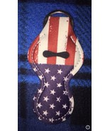 Amerian Flag Chapstick Keychain - $8.00