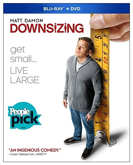 Downsizing [Blu-ray+DVD, 2018]