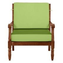 "26"" x 26"" Outdoor Deep Seat Cushion Set For Chair Sofa Key Lime Pie Green - $110.05"