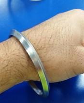 S3 Un Borde SARBLOH ACERO Hierro Puro Sij Kada Singh Khalsa Tradicional - $12.19