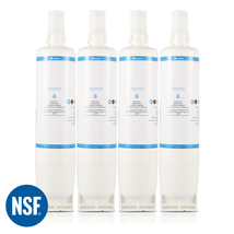 4396508 Refrigerator Water Filter, Replacement for Whirlpool EDR5RXD1, (4-Pack)