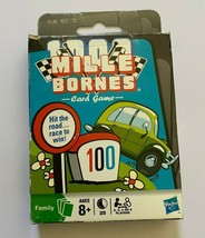1000 Mille Borne Card Game Family Night Ages 8+ Hasbro 2009 Parker Bros - $10.40