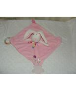 Stephan Baby Bunny Rabbit Security Blanket Teether/Nunu Lovey RATTLES - $11.69