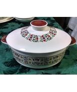 Royal Doulton Fireglow 2 Qt Oval Covered Casserole with Lid - $69.97