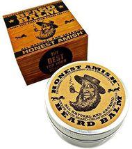 Honest Amish Natural & Organic Beard Balm Leave In Conditioner Vegan Friendly image 5