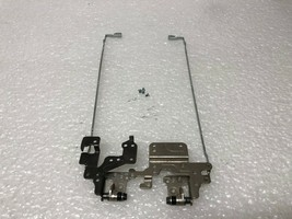 HP 17-F Touch Screen 17.3 Hinges Left Right + screws FBY17007010 FBY1700... - $28.71