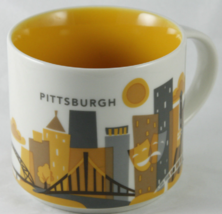 Starbucks 2013 Pittsburgh You Are Here Collection Coffee Mug NEW IN BOX - $54.95