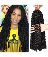 Passion Twist Hair 18 Inch Braiding Freetress Water Wave for Passion Twi... - $32.57
