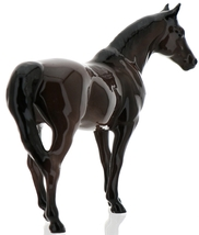 "Hagen-Renaker Miniature Ceramic Horse Figurine Thoroughbred ""Citation"" image 4"