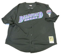 Mitchell & Ness MLB Arizona Diamondbacks Williams #9 SS Jersey Men's Siz... - $49.45