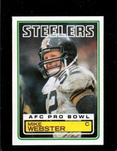 1983 Topps #368 Mike Webster Dp Nm *A27485 - $2.97
