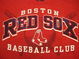RED BOSTON RED SOX BASEBALL CLUB MAJESTIC MLB ADULT S NICE FREE US SHIPPING - $29.64