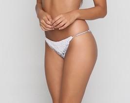 Rove Swimwear Hunter Crochet Detail Boho Cheeky Cut Bikini Bottom (M) Nwt $130 - $65.00