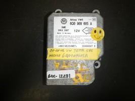 2000 2001 2002 VW JETTA SRS MODULE #6Q0909605A *See item* (BOX-12281) - $12.82