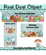 Cupcake Etsy Shop Set - $8.00