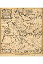 Map of Kentucky (Kentucke); Antique Map; Historic Cartography, 1784 - $26.72+