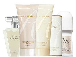 Avon Rare Pearls Classic For Her Five Piece Gift Set - $48.98